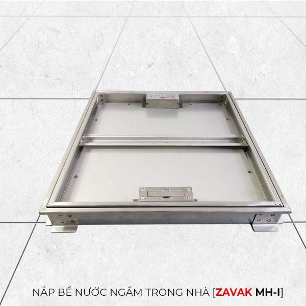 Khung Nắp bể nước ngầm âm sàn inox Zavak MHI45. nắp 450x450