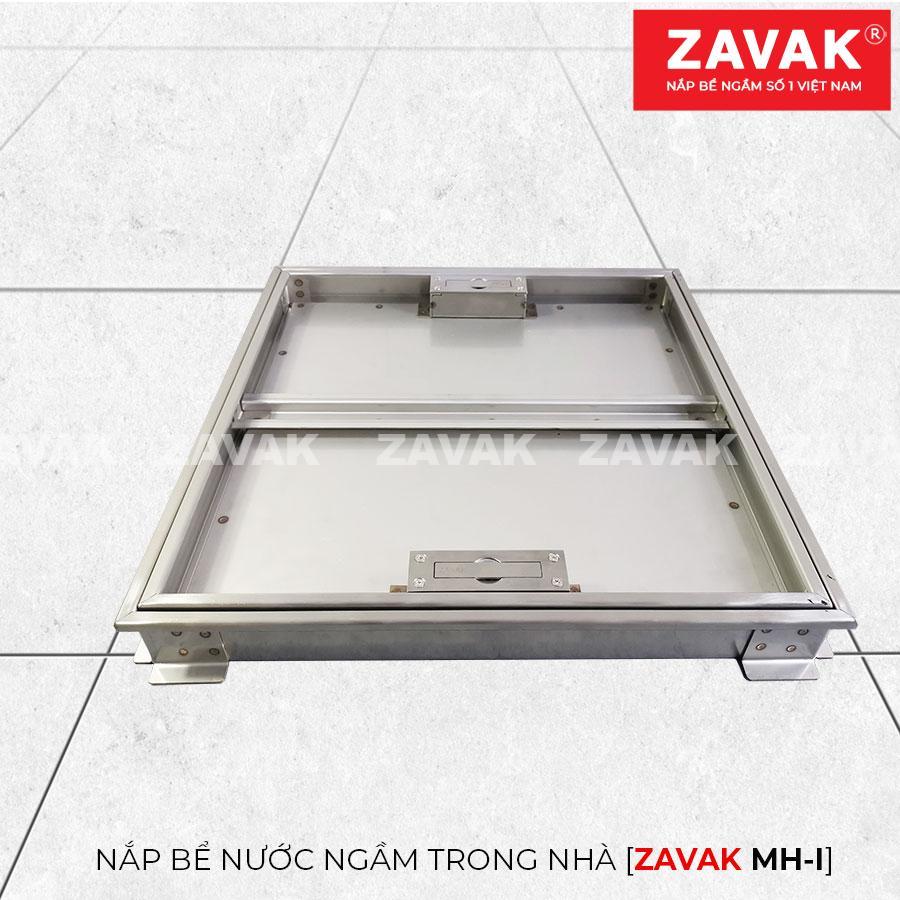 Khung Nắp bể nước ngầm âm sàn inox Zavak MHI