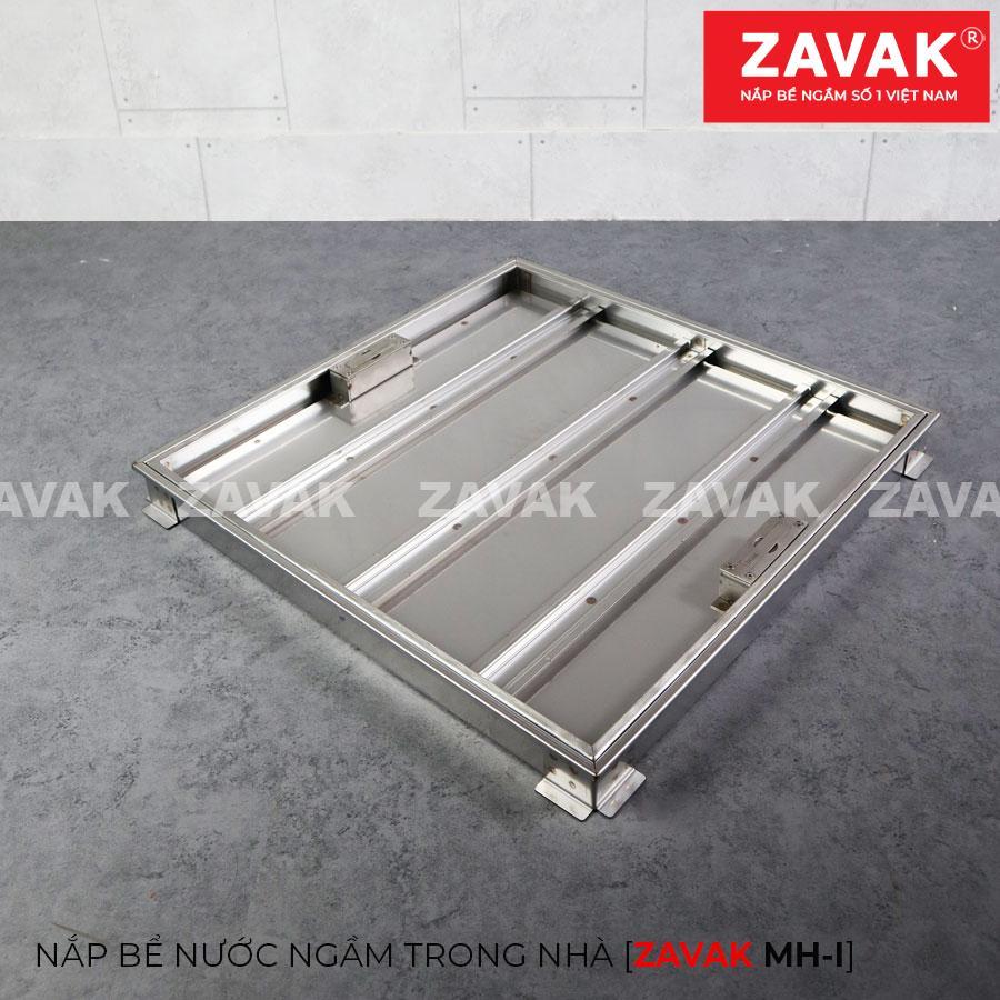 Nắp bể nước ngầm âm sàn inox Zavak MHI60. KT nắp 60x60cm