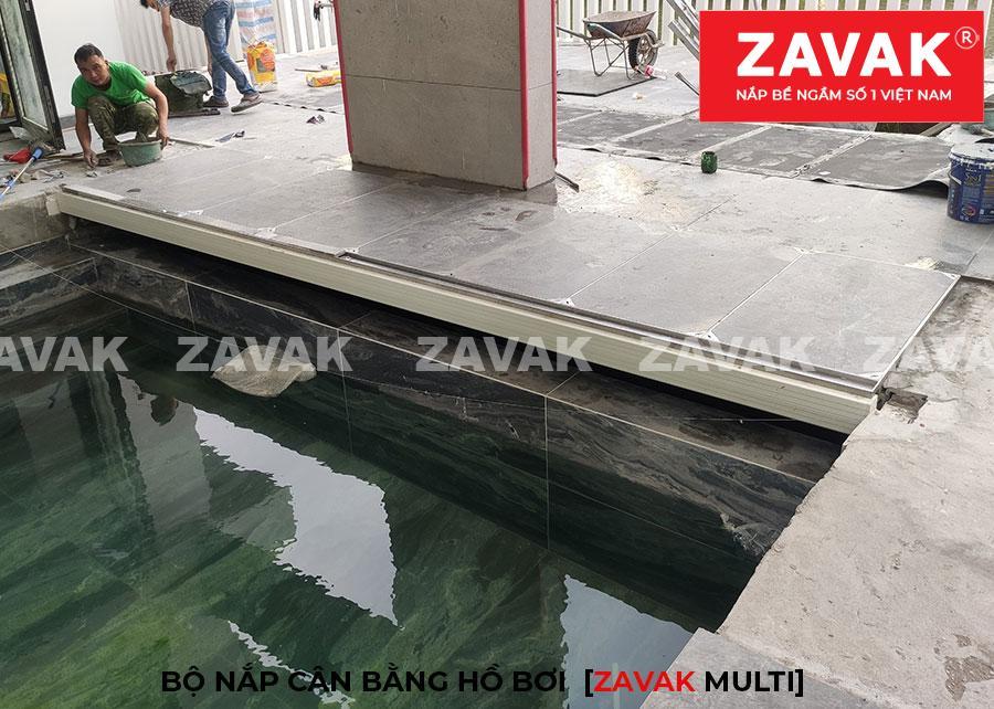 Nắp bể cân bằng hồ bơi nắp bể lọc hồ bơi bằng inox 304 Nắp kích thước lớn ZAVAK Multi