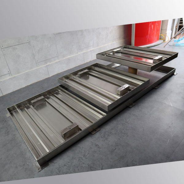 Bộ nắp bể lọc hồ cá koi trong nhà bằng inox 304 chống gỉ ZAVAK Multi